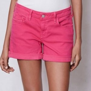 Pilcro and the Letterpress Pink Coral Stet Shorts